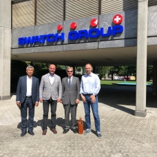 BRANDPOL GROUP had a meeting with Swatch Group