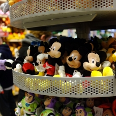 Counterfeit Disney toys were found in the baby shop